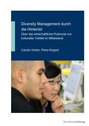Diversity Management durch die Hintertür - Synergy Consult
