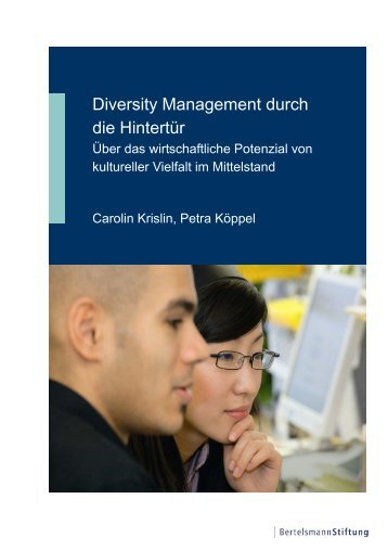 Diversity Management durch die Hintertür - Synergy Consult