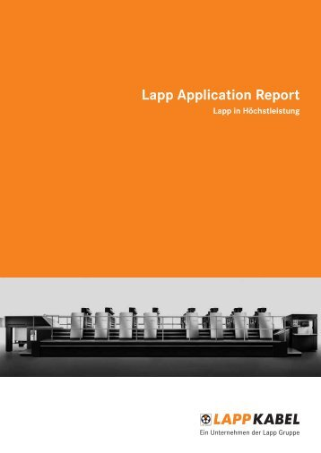 Lapp Application Report
