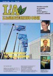L'Agrotecnico Oggi novembre 08 - Collegio Nazionale degli ...
