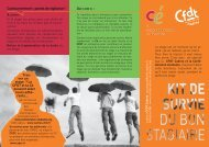 Stages - CFDT Cadres