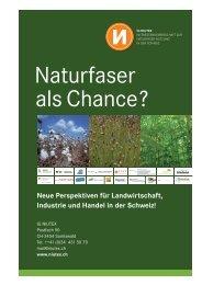 Neue Perspektiven für Landwirtschaft, Industrie und ... - NIUTEX 2010