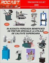 masini pentru prelucrarea metalelor - Rocast
