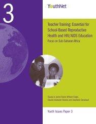 Teacher Training: Essential for School-Based Reproductive Health ...