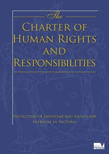 Victorian Charter of Human Rights and Responsibilities