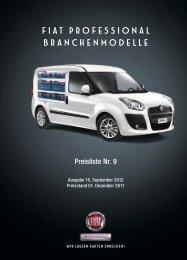 Prospekt - Fiat Professional