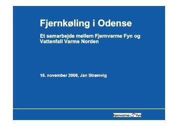 Fjernkøling i Odense