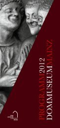 rogramm 2012 - Dommuseum Mainz