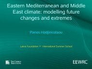 Eastern Mediterranean and Middle East climate: modelling future ...