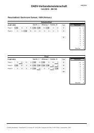 Resultatblätter - OASV