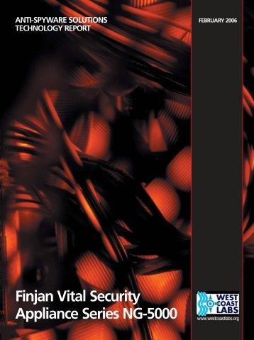 Finjan Vital Security Appliance Series NG-5000