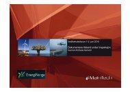 Dokumentere tilstand under inspeksjon - Energi Norge