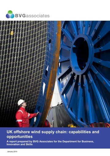 UK offshore wind supply chain: capabilities and opportunities