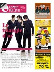 9 h - Le Petit Bulletin
