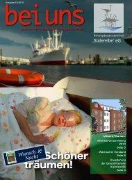 Schöner träumen! - Wohnungsbaugenossenschaft Süderelbe eG