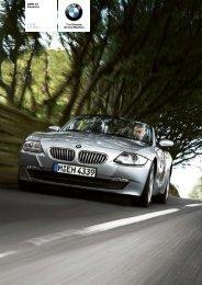 The BMW Z4 2.5i Roadster