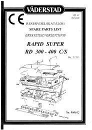 RAPID SUPER - Hjallerup Maskinforretning A/S