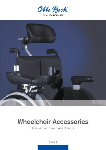 Wheelchair Accessories - GTK Rehab