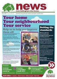 North edition - Nottingham City Homes