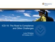 ICD-10: The Road to Compliance and Other Challenges