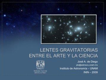 Lentes gravitatorias: entre el arte y la ciencia