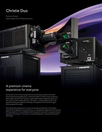 Christie Duo Brochure - Christie Digital Systems