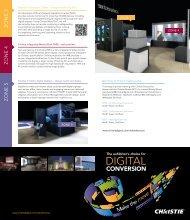 ZONE 3 ZONE 4 ZONE 5 - Christie Digital Systems