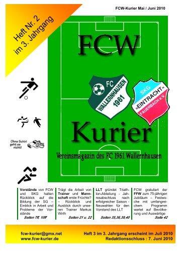 Download von Heft 2010 / 2 - fcw-kurier.de