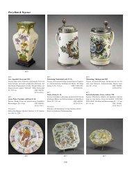 Porzellan & Keramik - Galerie Fischer Auktionen AG