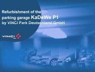KaDeWe, Berlin - European Parking Association