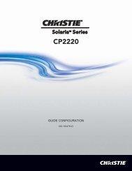 CP2220 - Christie Digital Systems