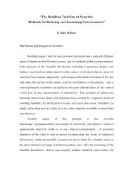 """The Buddhist Tradition of ⁄amatha: Methods for ... - B. Alan Wallace"