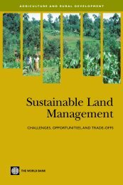 Sustainable Land Management - World Bank Internet Error Page ...