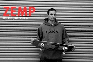 Interview mit Vereinsmitglied und Pro Skater Christian Zemp