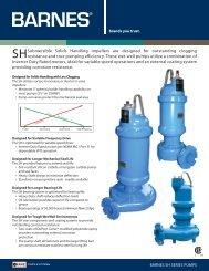SH Series Overview Brochure - Crane Pumps & Systems