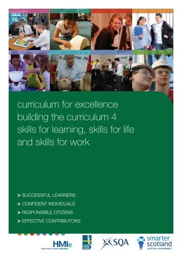 Building the Curriculum 4 - Education Scotland