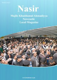 Writings of the Promised Messiah - Majlis Khuddamul Ahmadiyya UK