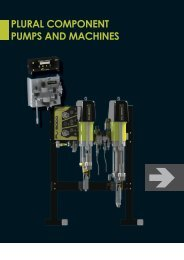 PLURAL COMPONENT PUMPS AND MACHINES - Epacnz.co.nz