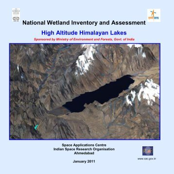 high altitude wetlands.pdf - Ministry of Environment and Forests