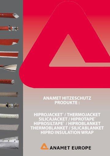 ANAMET HITZESCHUTZ PRODUKTE : HIPROJACKET ...