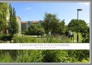 L'Eco-quartiEr d'augustEnborg - Malmö stad