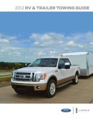 2012 Ford RV and Trailer Towing Guide - Ford Fleet