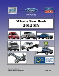 What's New Book 2012 MY - Ford Fleet