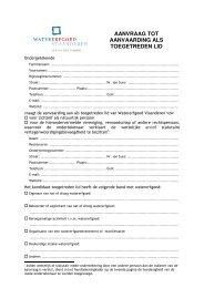 formulier - Watererfgoed Vlaanderen