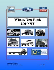 What's New Book 2010 MY - Ford Fleet