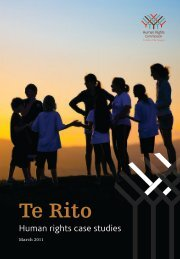 Te Rito - Human Rights Commission