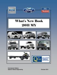 What's New Book 2011 MY - Ford Fleet