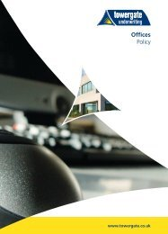 Offices Policy - Towergate Underwriting