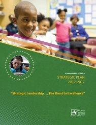 Strategic Plan 2012-2017 - Atlanta Public Schools