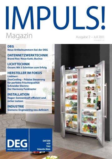 IMPULS! Ausgabe 2 -  Deutsche Elektro Gruppe